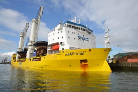 Happy Star arrival to Rotterdam (2) (2)