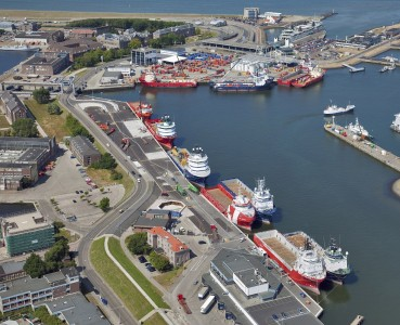 Offshorekades Den Helder - Foto Flying Focus LR