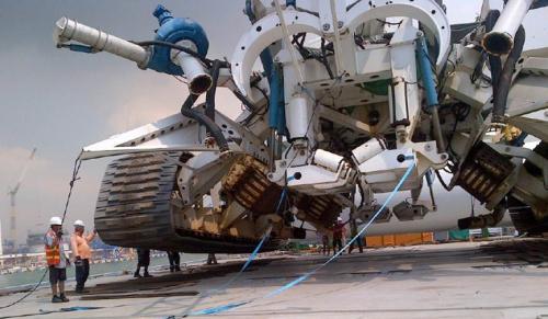 DeepOcean  - T3200 trencher