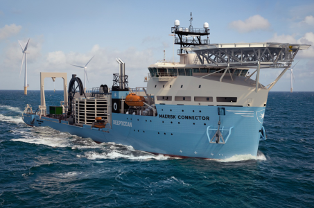 Maersk Connector - cable installation vessel