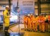 First steel cut for Johan Sverdrup drilling platform