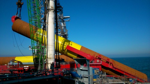 Ihc Iqip Delivers New 1 400t Upending Tool Ocean Energy