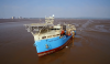The first engineered grounding of Maersk Connector
