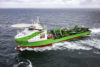 Trailblazing cable laying and multipurpose vessel