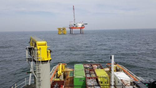 Rhenus supplies the Borssele Alpha offshore platform Rhenus supplies